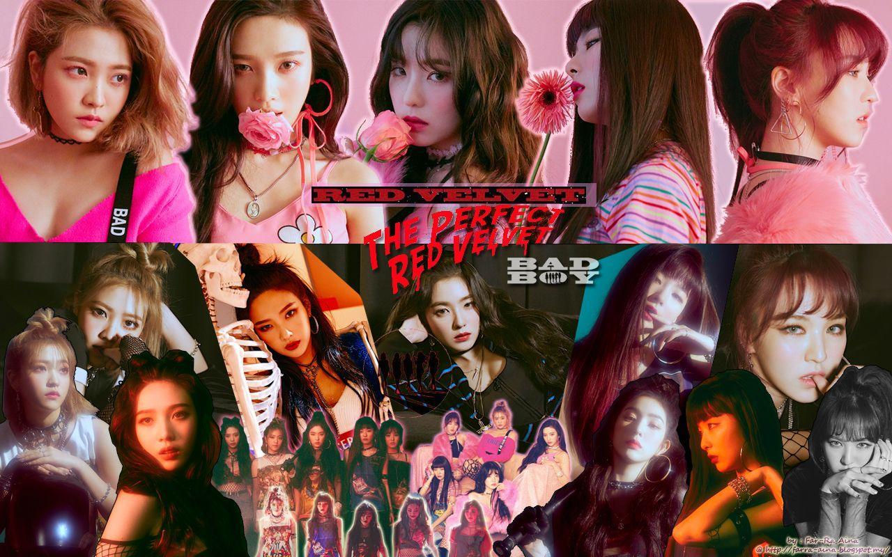 Hd 2018 Red Velvet Wallpaper Desktop