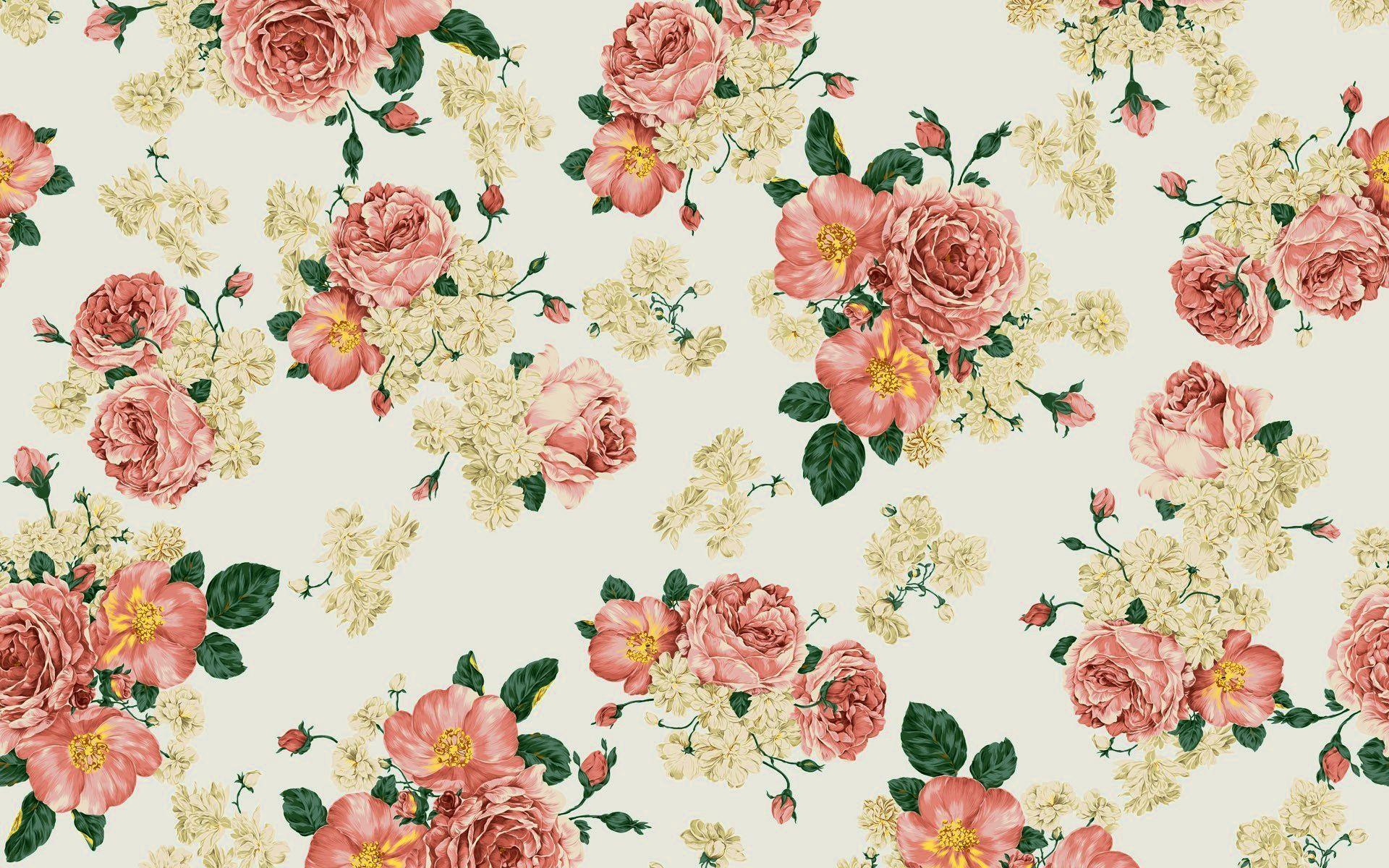 Flower Vintage Wallpapers Tumblr Wallpaper Cave