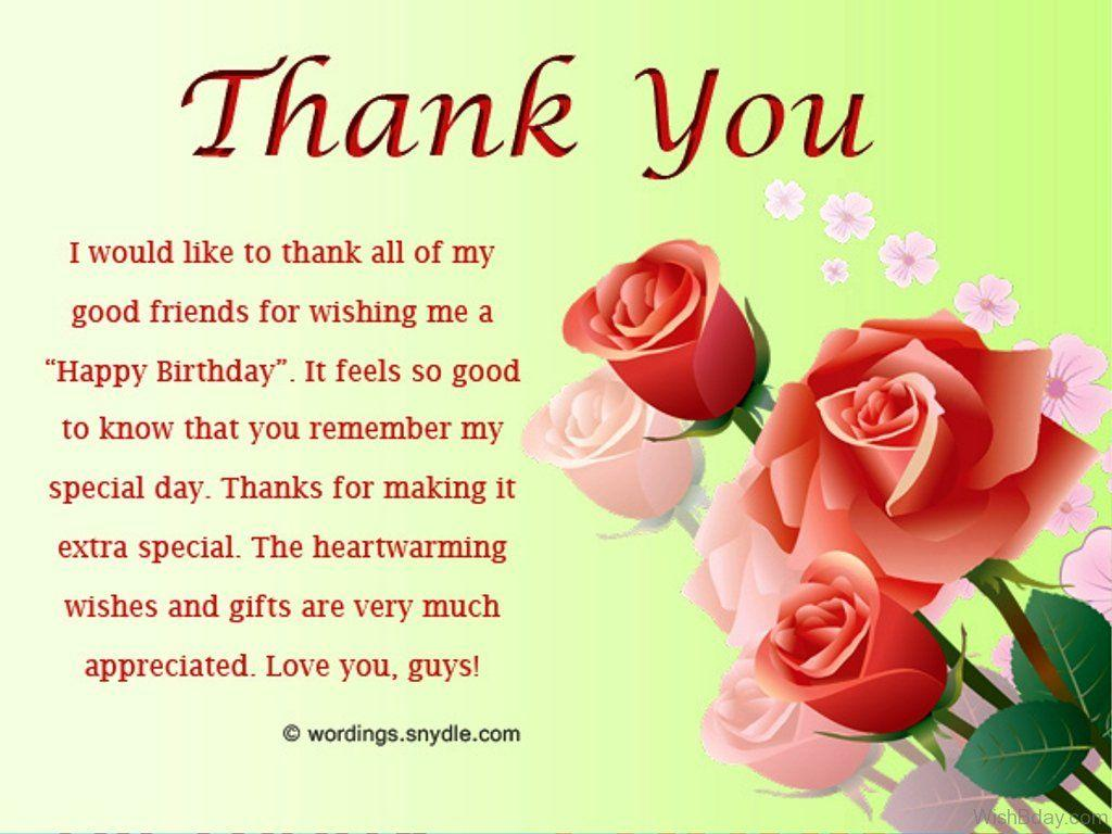 Birthday Thank You Wallpapers Wallpaper Cave
