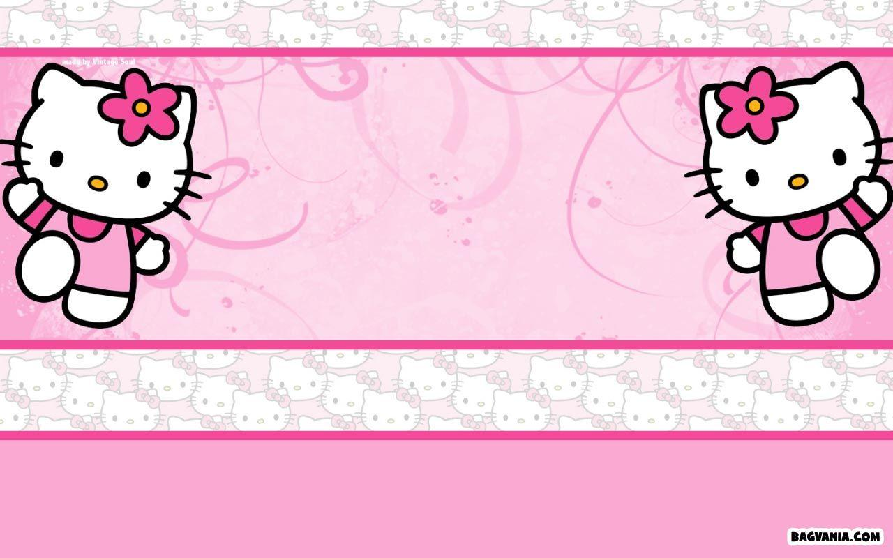 hello kitty birthday backgrounds