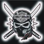 Harley Davidson Skull Logo Wallpapers Wallpaper Cave