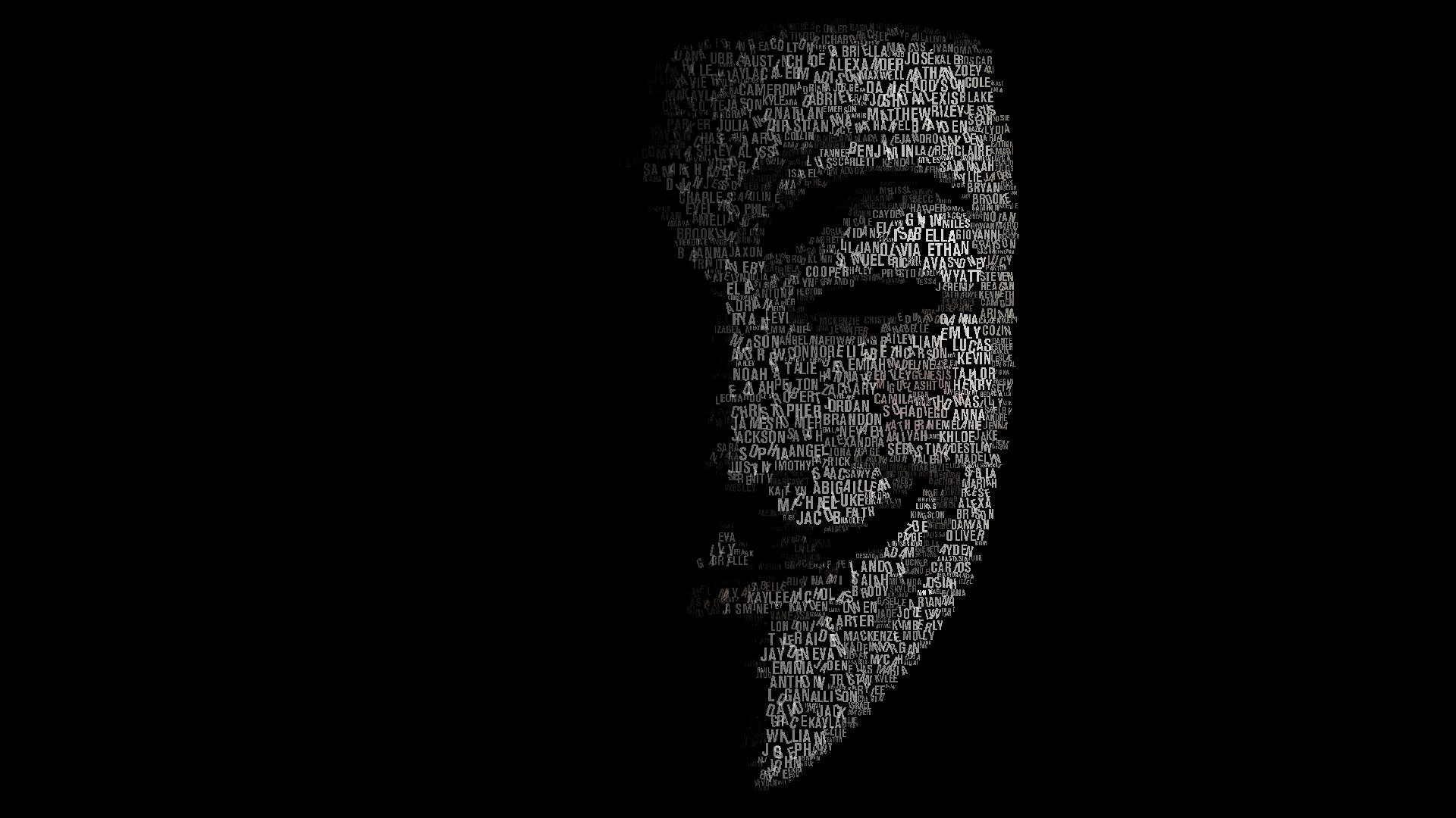 Wallpapers Hd 1080p Anonymous Wallpaper Cave