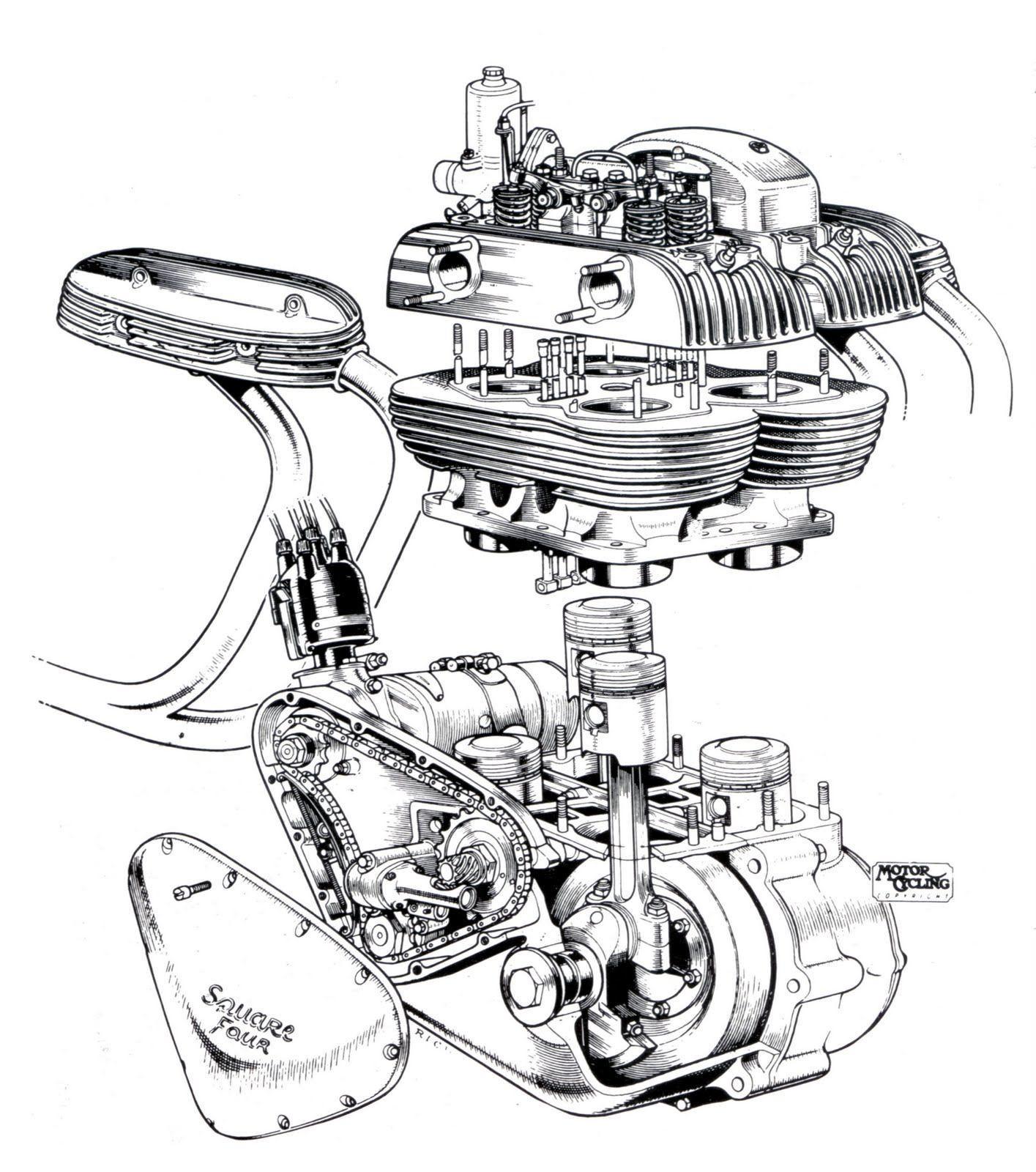 Honda Engine Cutaway Wallpapers