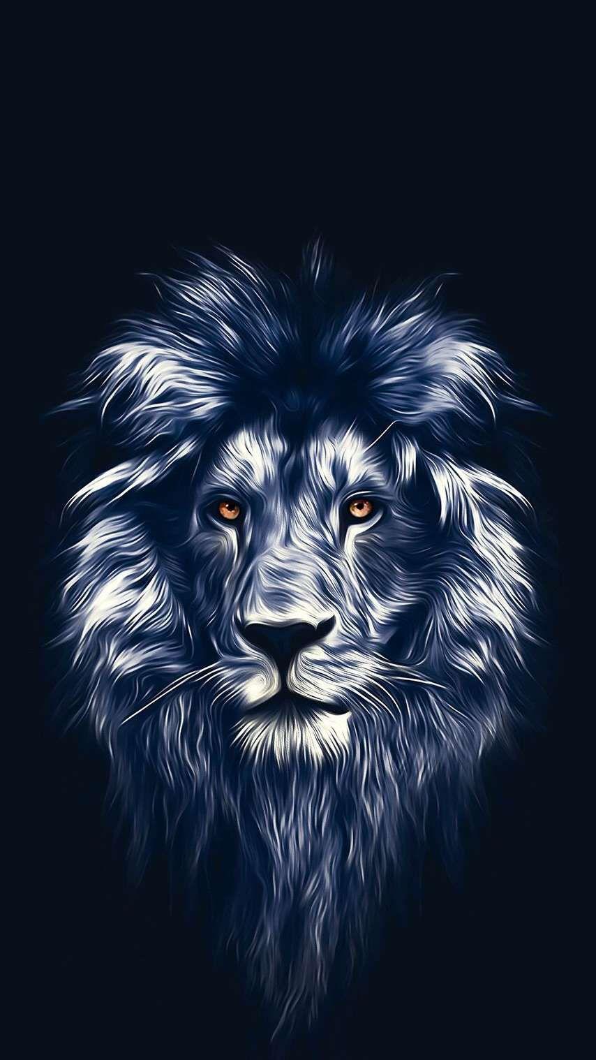 Lion Art Wallpapers Wallpaper Cave