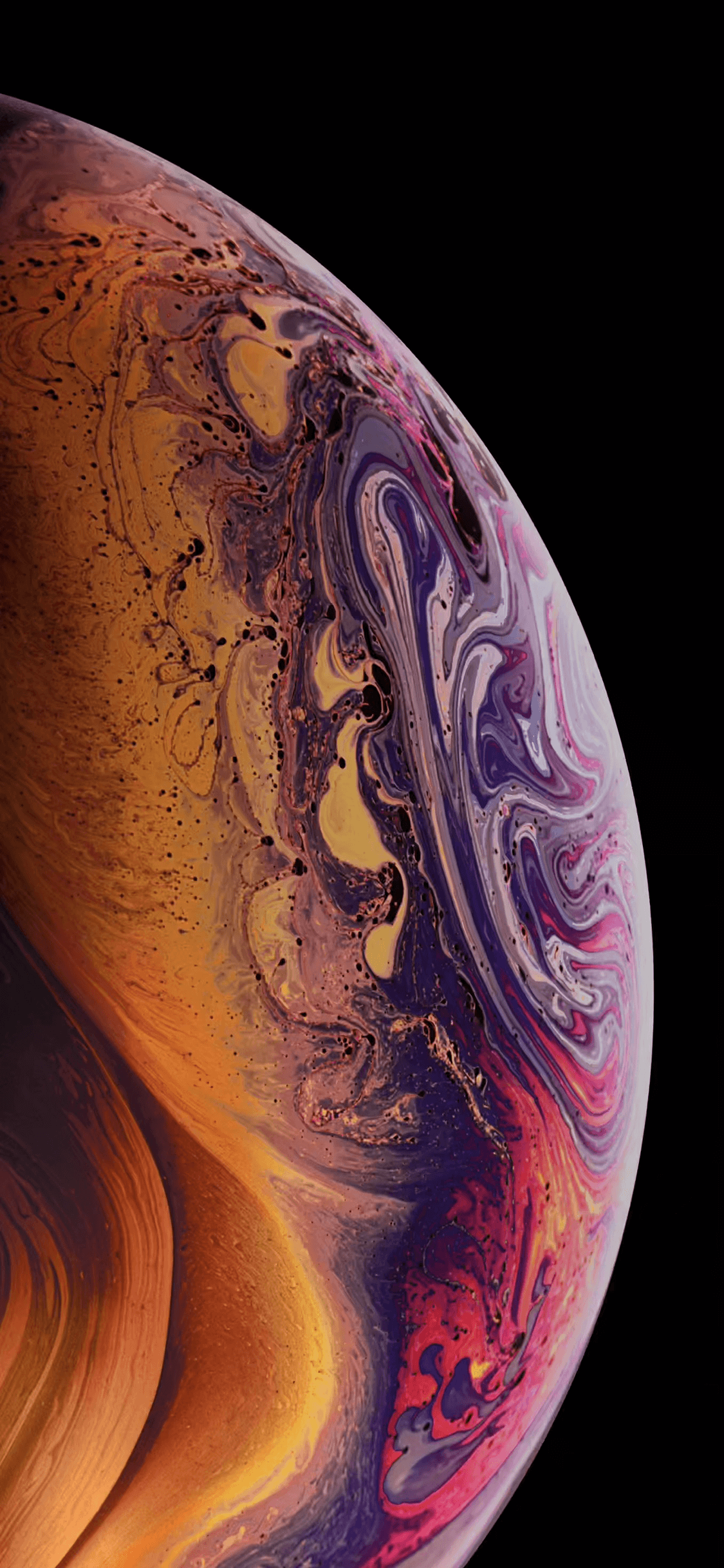 Iphone 10 Xs Max Planet Wallpapers Wallpaper Cave
