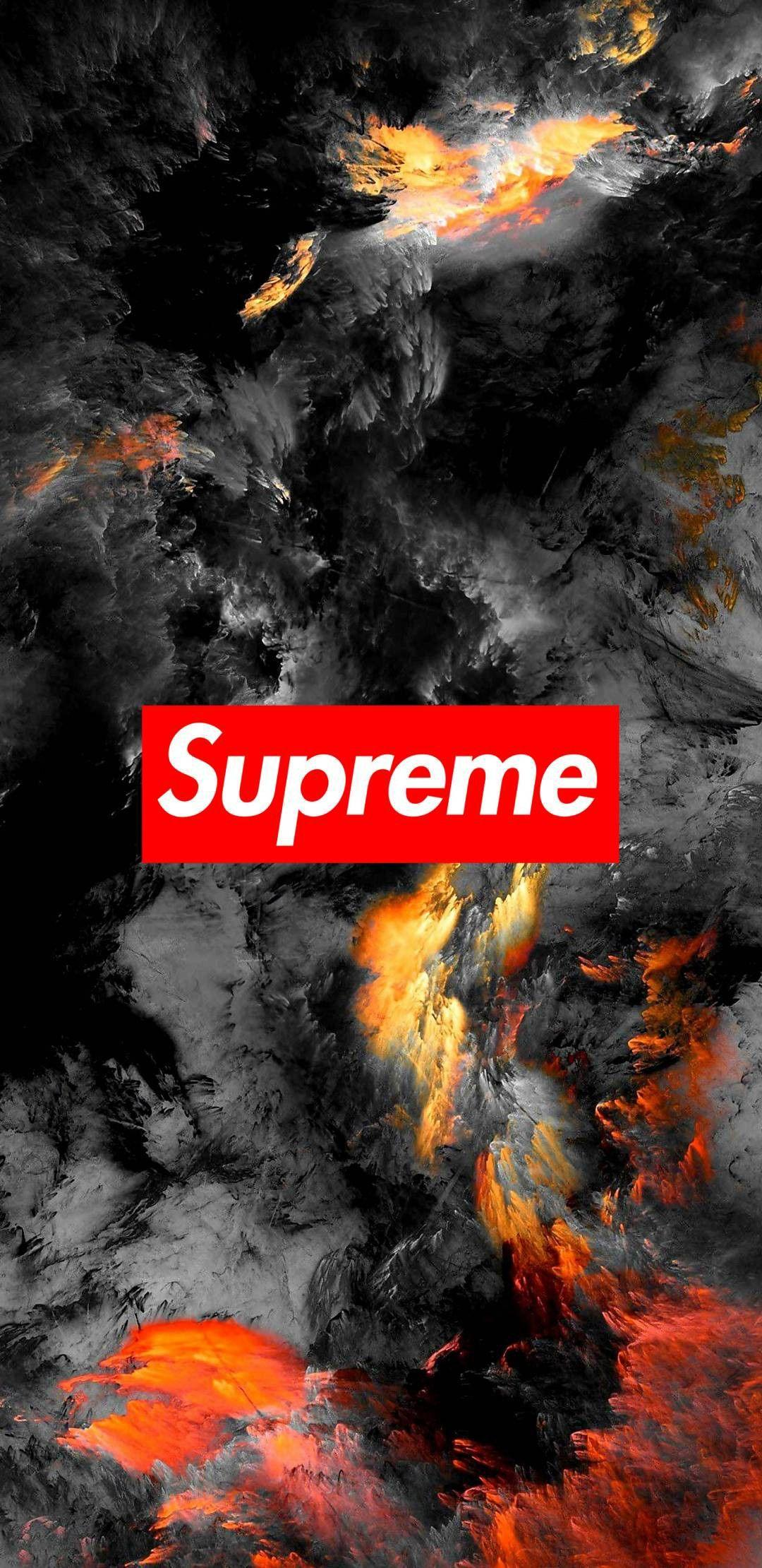 Cool Iphone Supreme Wallpapers Wallpaper Cave