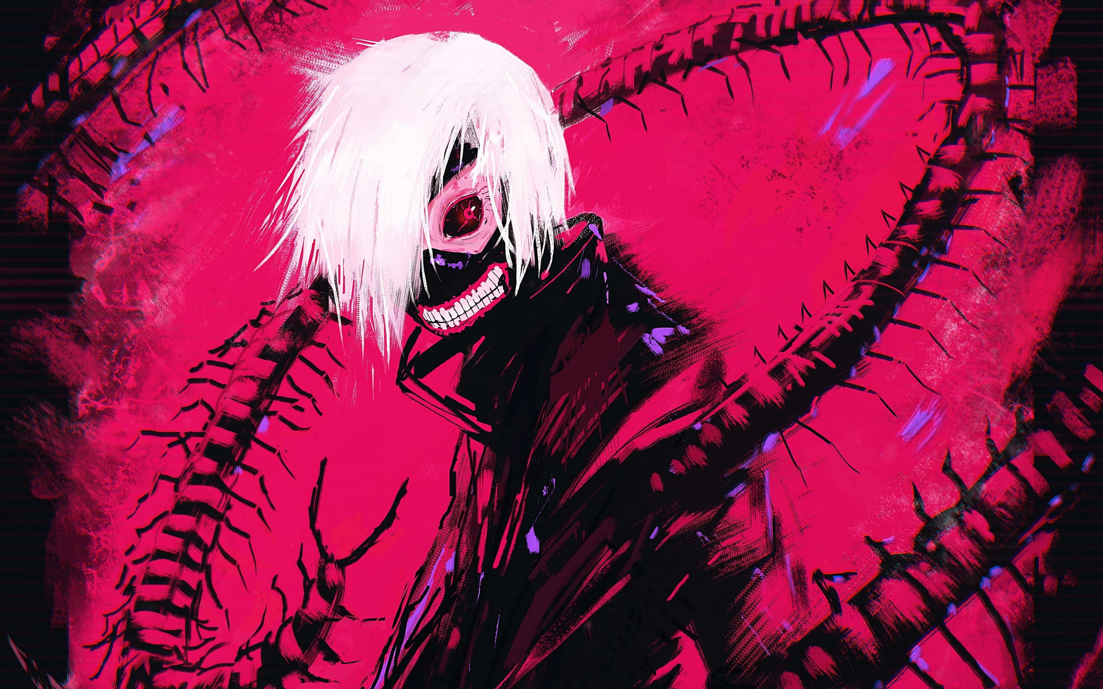 Tokyo Ghoul Aesthetic Ps4 Wallpapers Wallpaper Cave