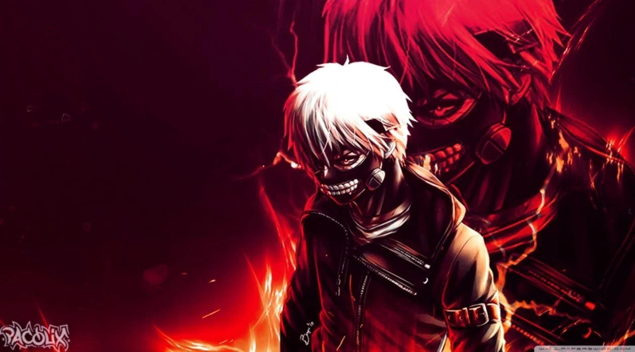Red Anime Ps4 Wallpapers Wallpaper Cave