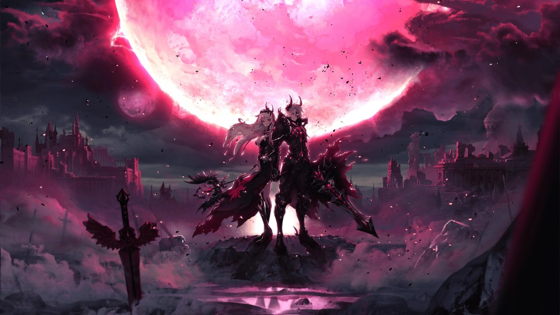 Pink 4k Anime Wallpapers Wallpaper Cave