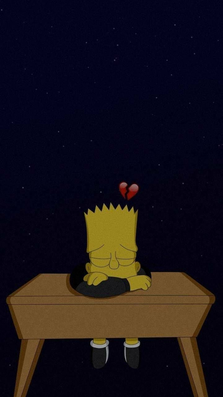 Crying Bart Simpsons