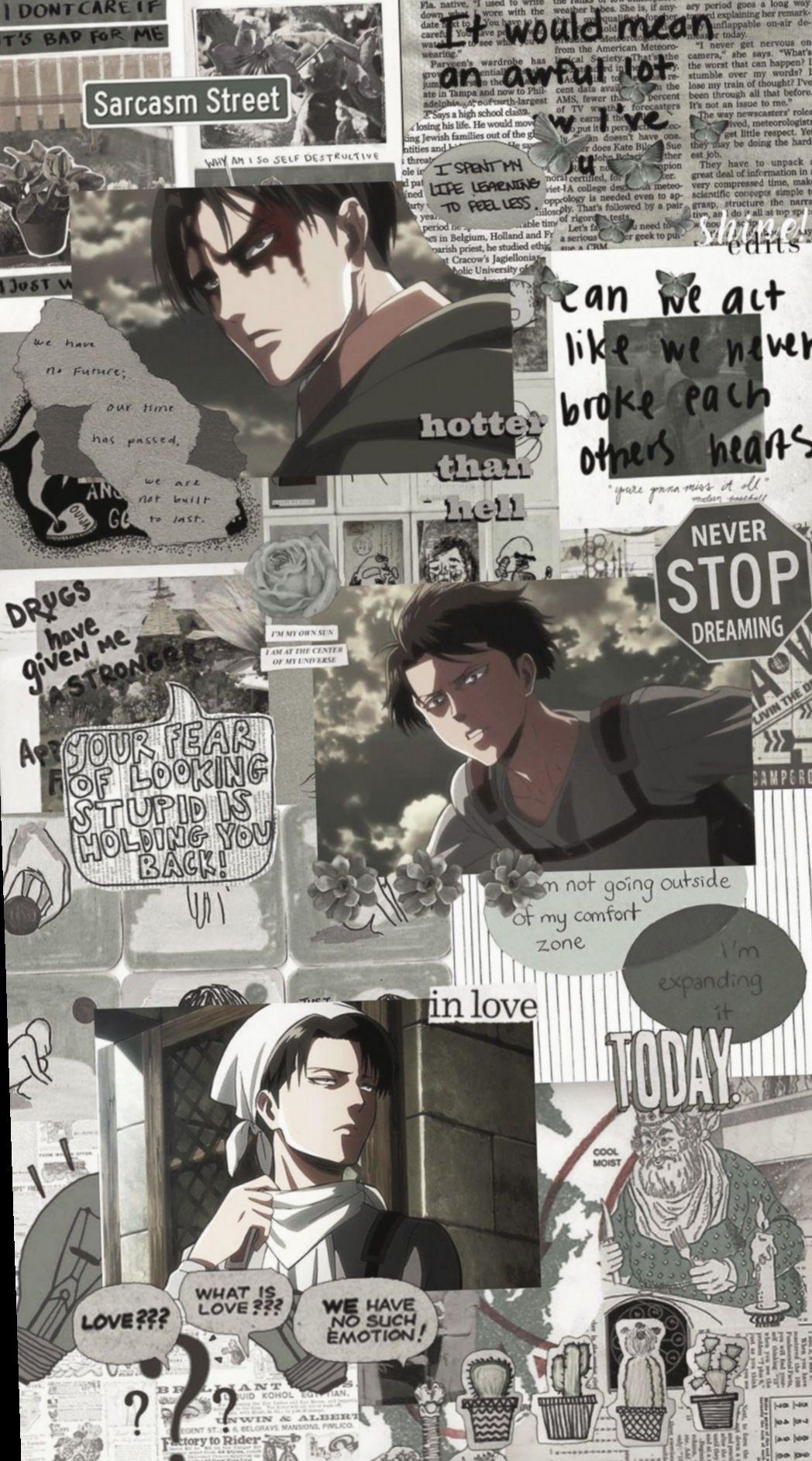 Aot Manga Wallpapers Wallpaper Cave