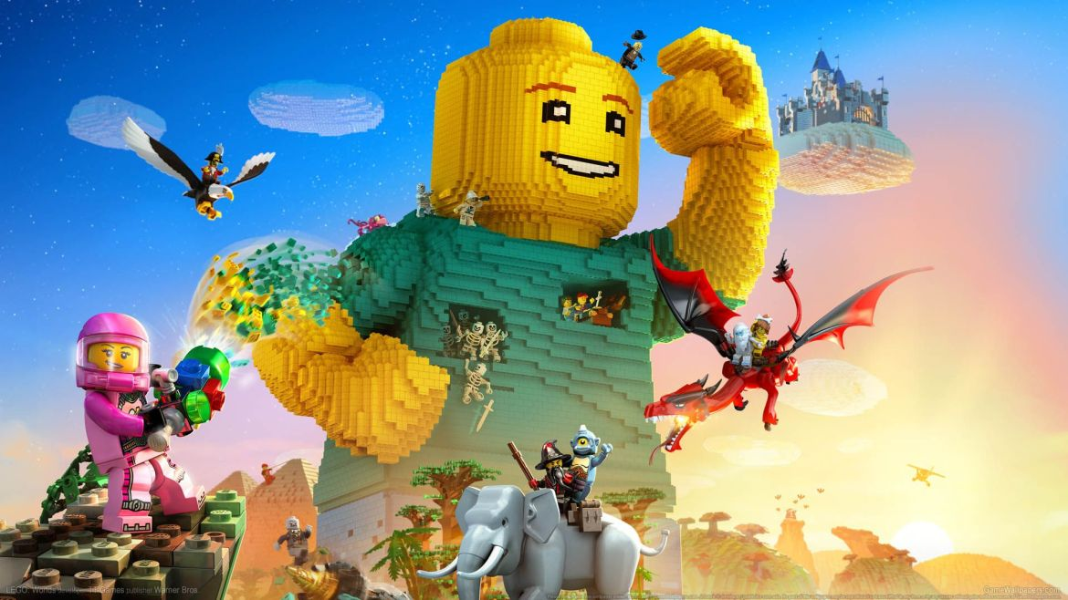 Lego Worlds Wallpapers - Wallpaper Cave
