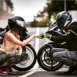 Biker Couple Wallpapers Wallpaper Cave