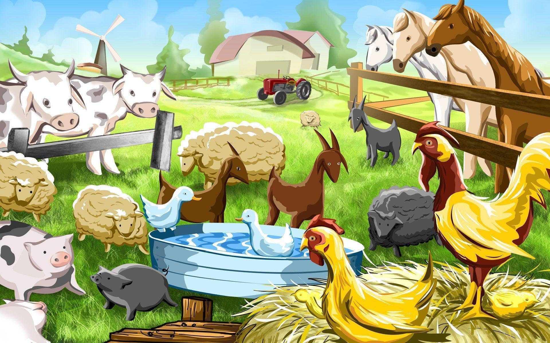 Farm Animals Wallpapers