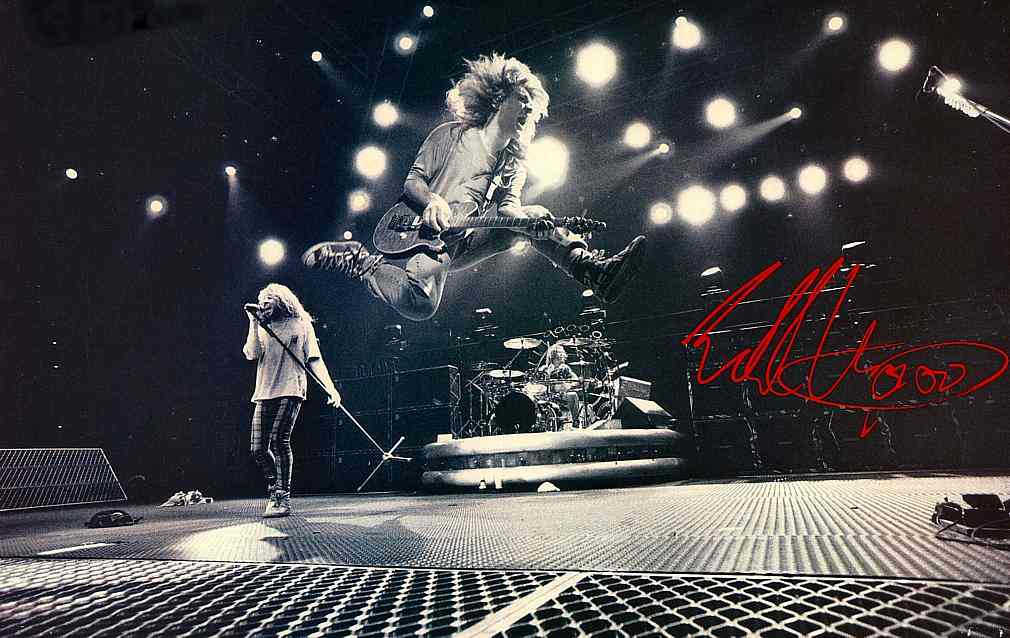 Eddie Van Halen Wallpapers Wallpaper Cave