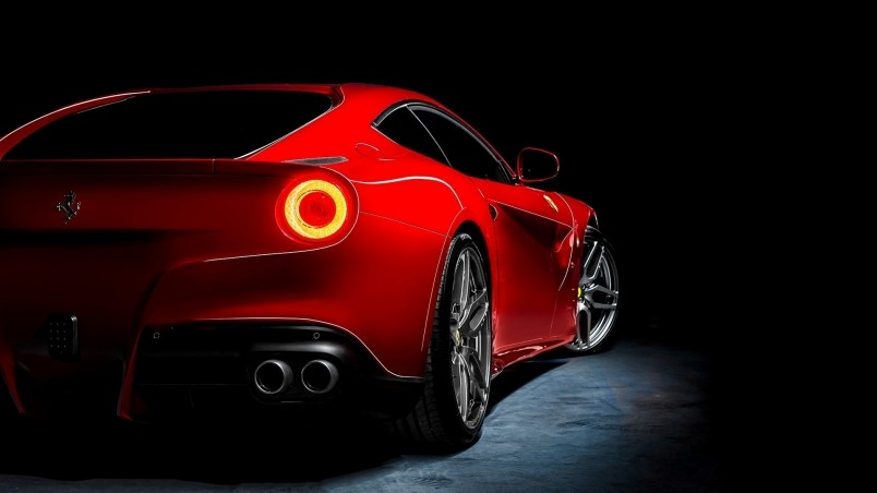 Red Ferrari F12 Berlinetta HD Wallpaper WallpaperFX