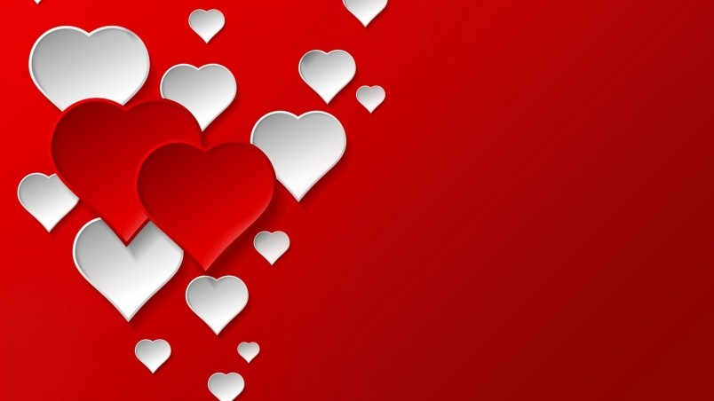 Digital Hearts HD Wallpaper WallpaperFX