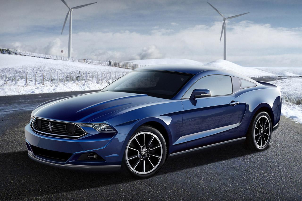 Blue Ford Mustang Wide Wallpaper Wallpaper WallpaperLepi