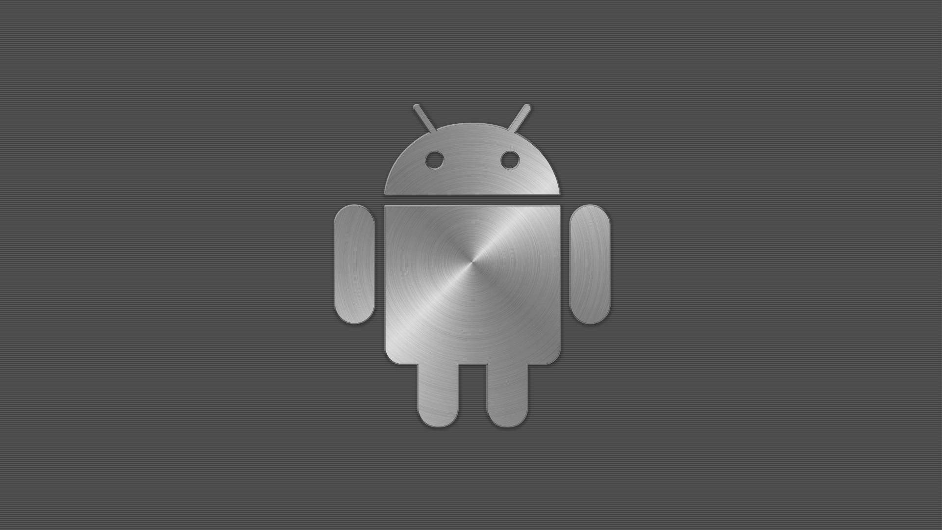 metal logo android wallpaper wallpaper | wallpaperlepi