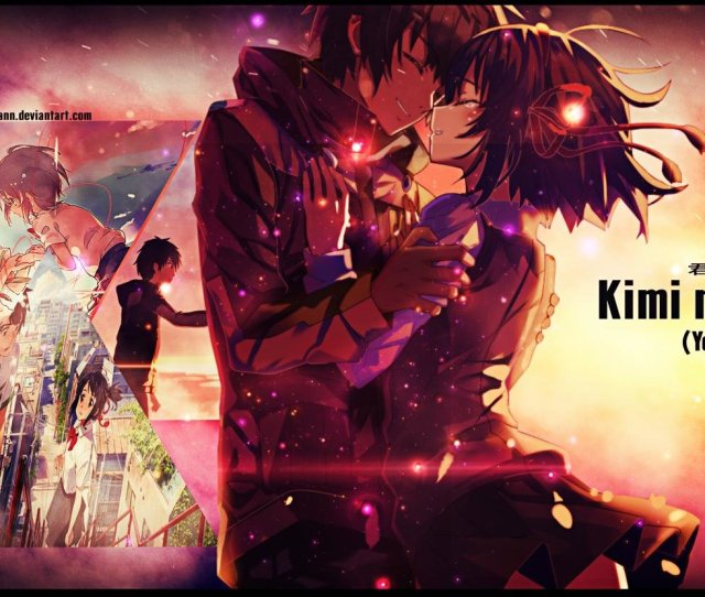 High Resolution Your Name Dual Screen 2240x832 Wallpaper Id148743 For Desktop