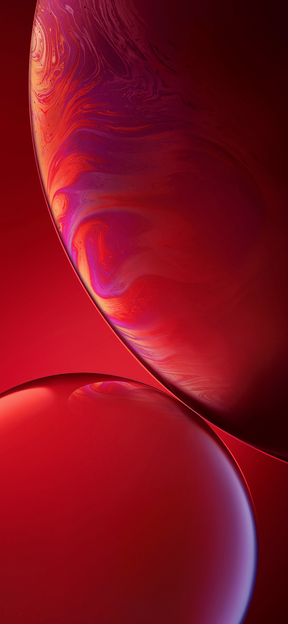 Iphone Xr Stock Wallpaper Product Red Wallpapers Central