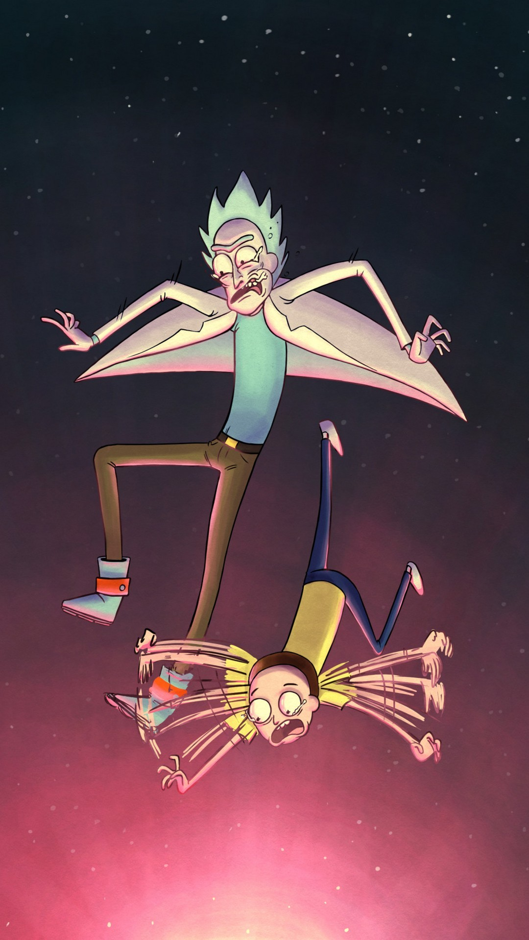 Rick and Morty HD Wallpaper For iPhone   2018 Cute Screensavers Rick and Morty HD Wallpaper For iPhone with image resolution 1080x1920  pixel  You can use