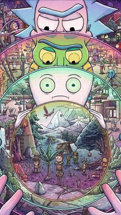 Rick and Morty iPhone X Wallpaper | 2019 Cute Wallpapers