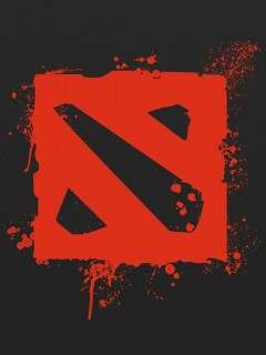 Dota 2 Logo Phone WallpapersIphoneandroid HD Wallpapers Dota 2 Private Collection