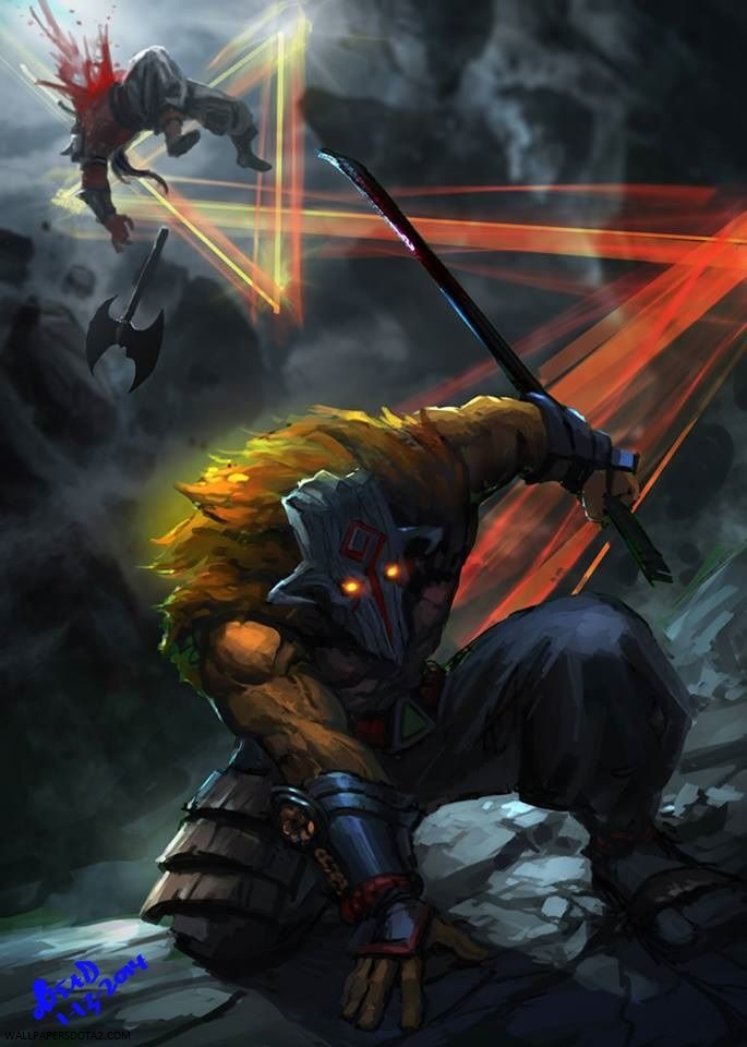 Juggernaut Cool Wallpapers For Iphone Wallpapers Dota 2 Private Collection Background Image