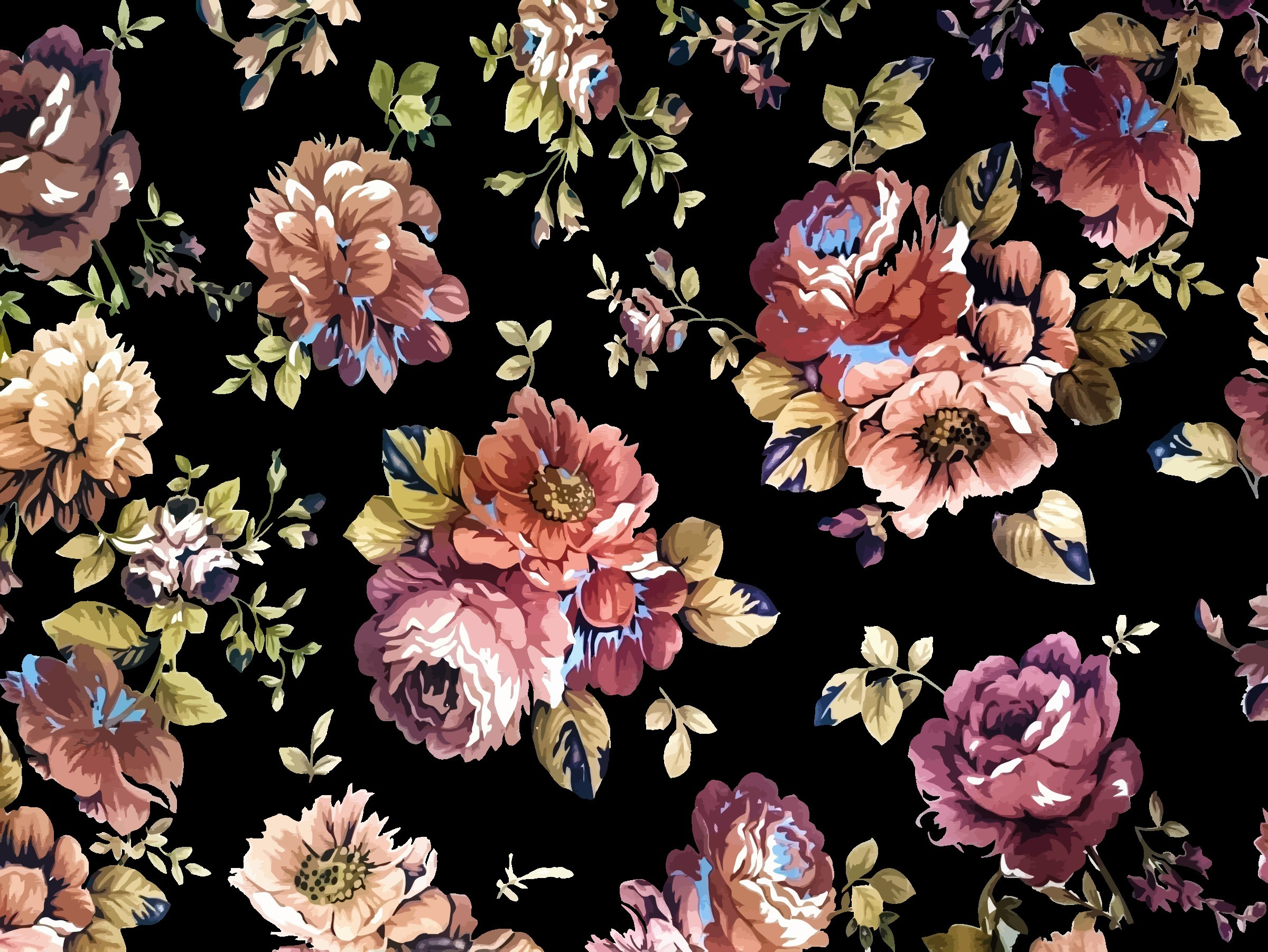 Vintage Flower Backgrounds 49 Pictures