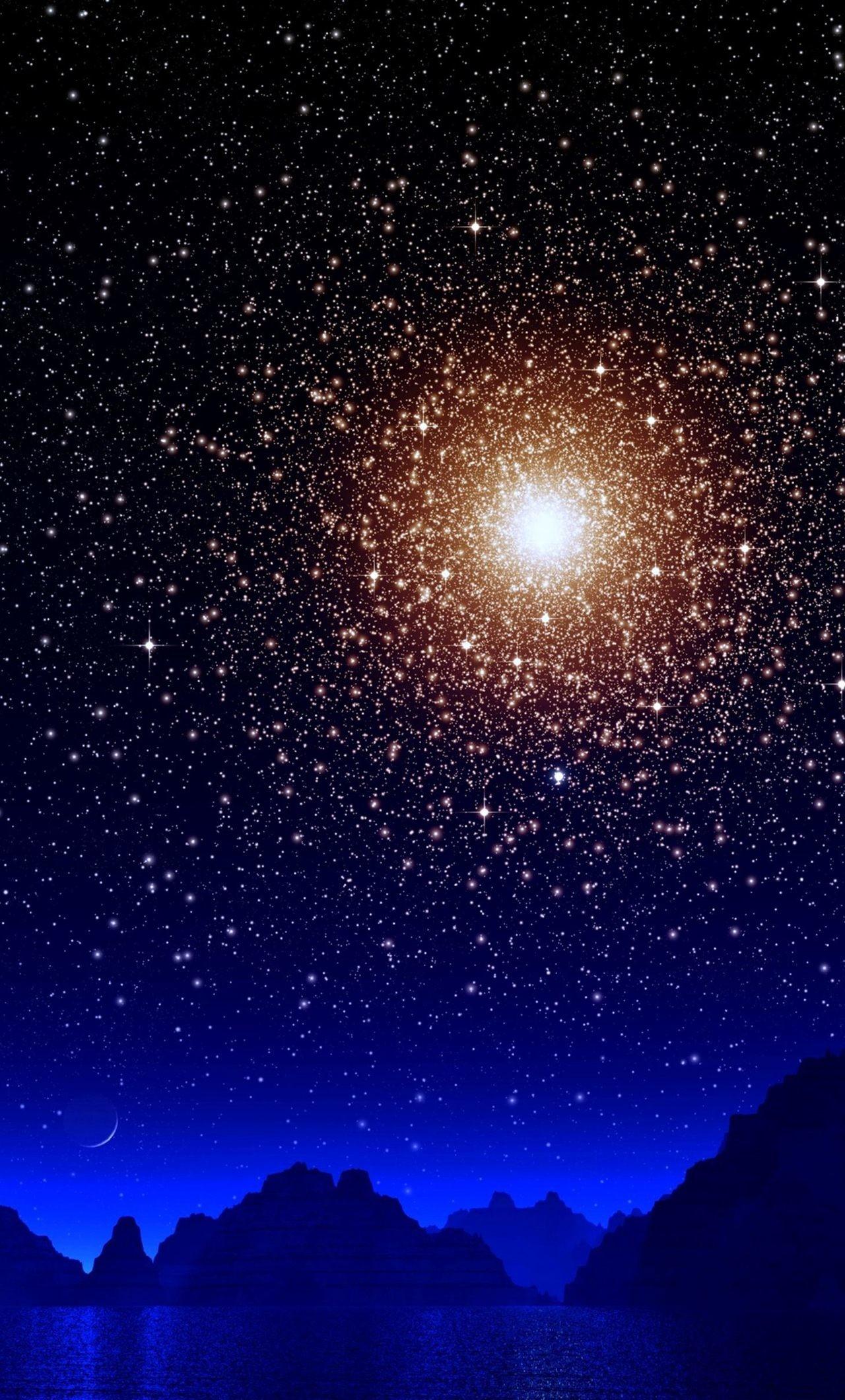 Sun Moon Stars Wallpaper 60 Pictures