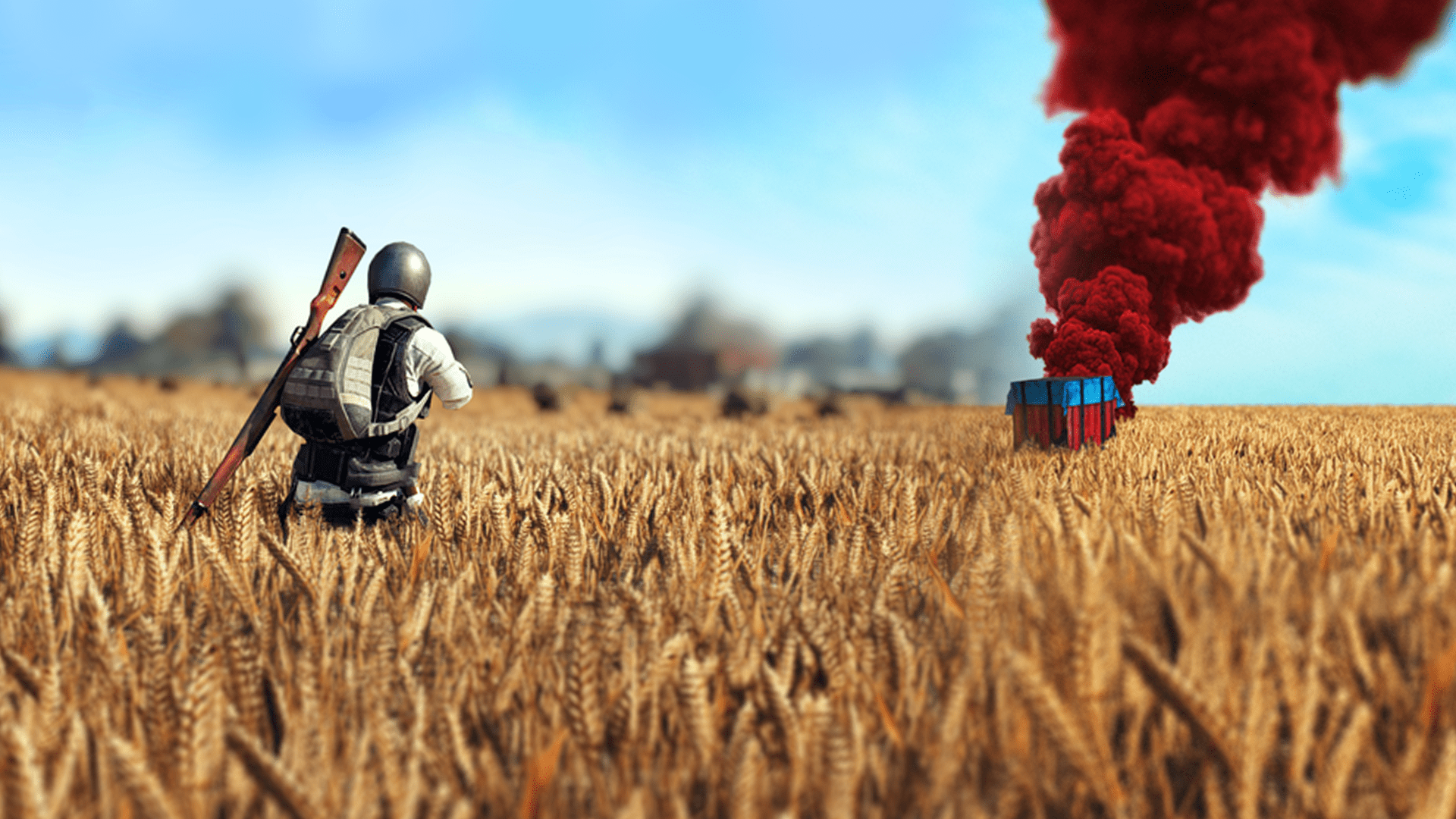 Pubg Wallpaper 4k: PUBG Poster Supply Drop Wallpaper Desktop And Mobile