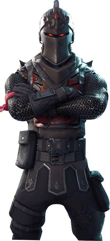 The Black Knight Fortnite Skin Poster Wallpaper Wallpapers For Tech