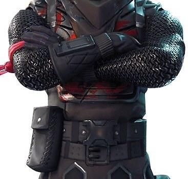 The Black Knight Fortnite Skin Poster Wallpaper