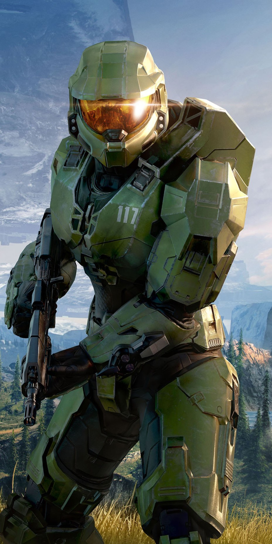 Halo Infinite Master Chief Halo Ring Wallpaper Wallpapers For Tech
