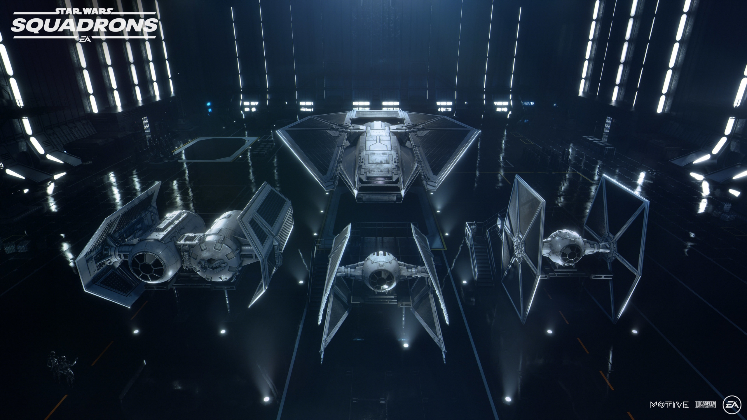 Star Wars Squadrons Galactic Empire Hanger Wallpaper
