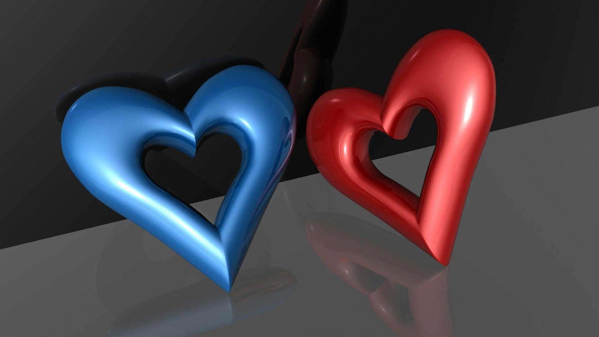 3d Wallpapers Red Blue Wallpapers Hero