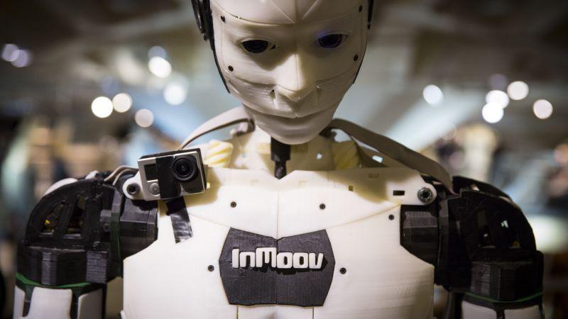 Wallpaper Inmoov 3d Printed Robot Maker Faire 2015