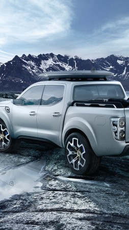 Wallpaper Renault Alaskan Concept Pick Up Cars Amp Bikes