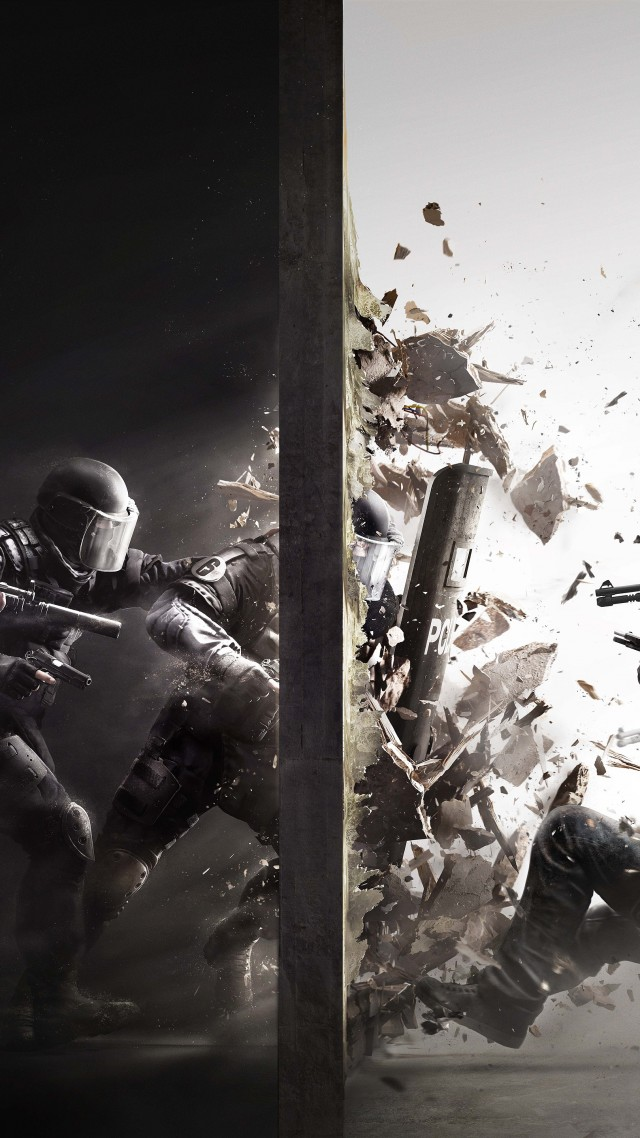 Wallpaper Rainbow Six Siege Best Game Shooter Fps PS