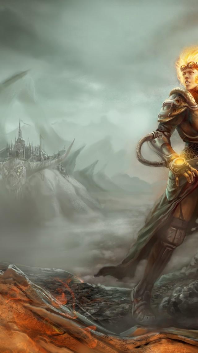 Wallpaper Magic The Gathering Chandra Nalaar RPG