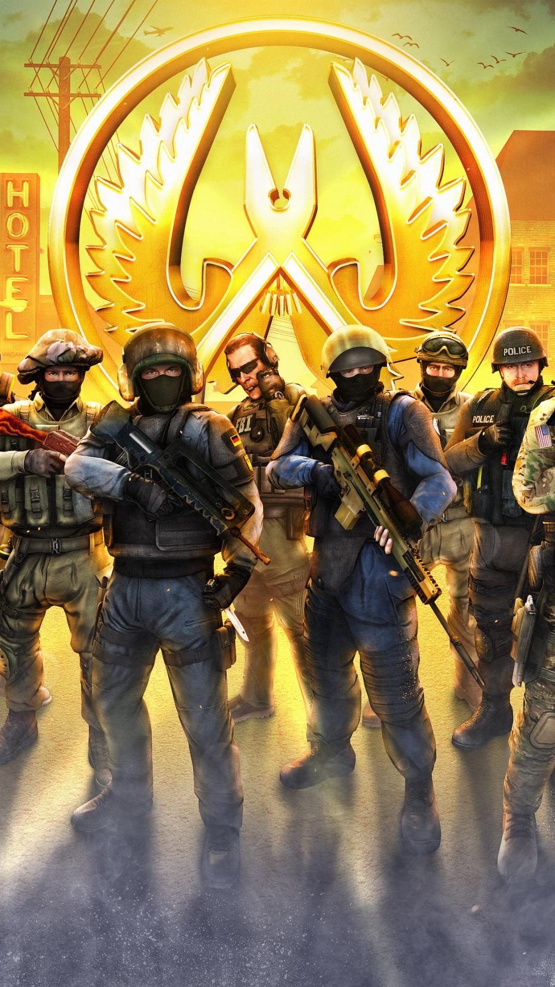 Wallpaper Counter Strike Global Offensive 4k Poster