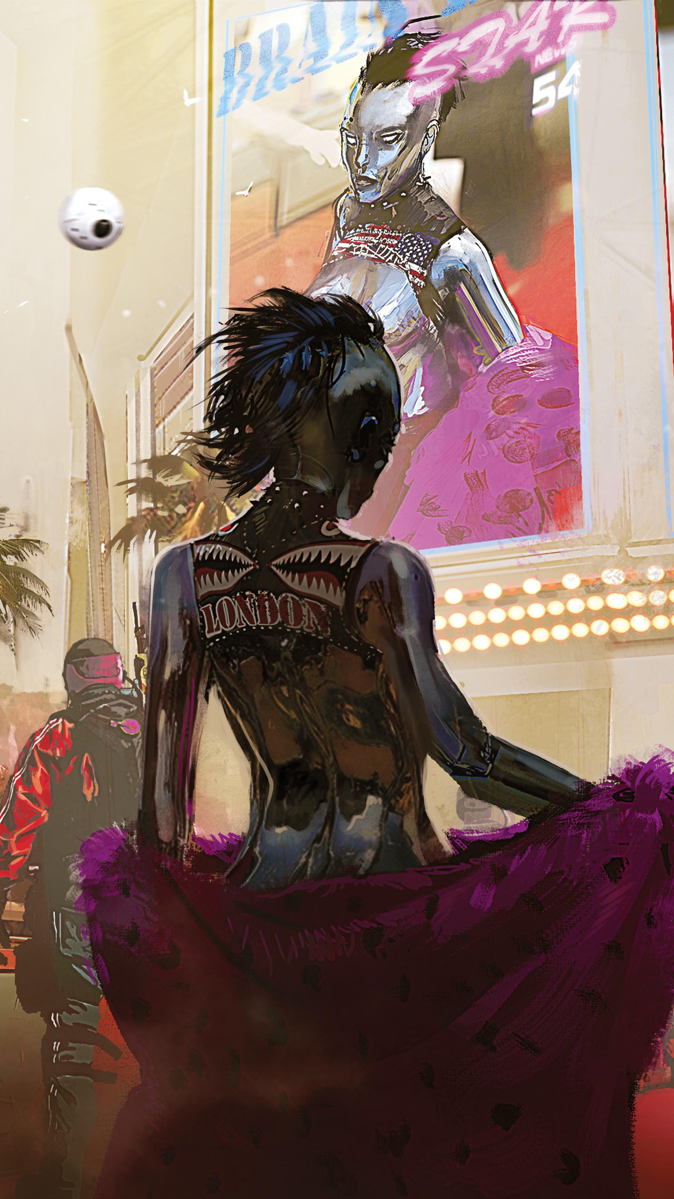 Wallpaper Cyberpunk 2077 E3 2018 Artwork 12k Games 19196