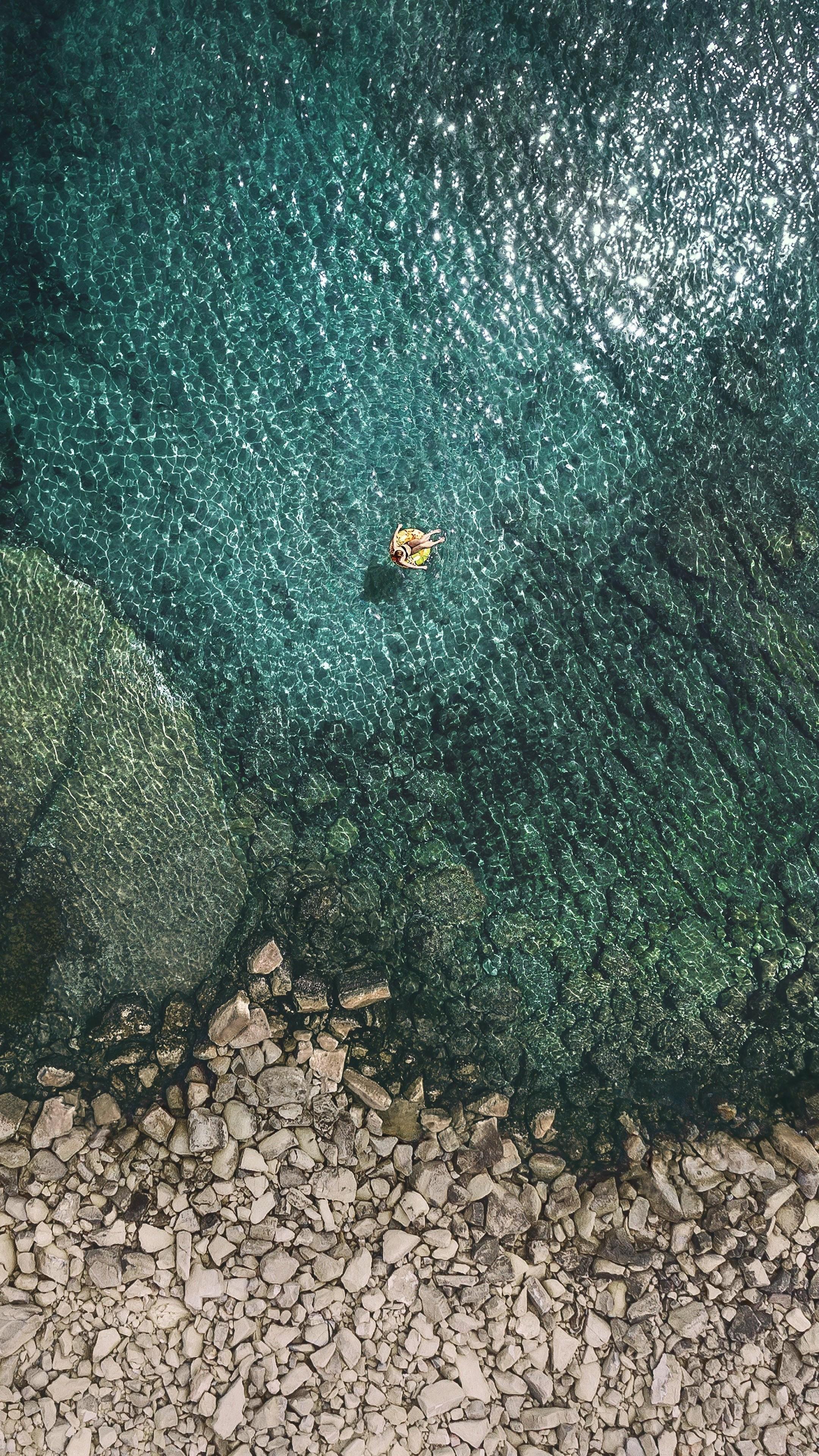 Wallpaper Ios 11 4k Sea Os 13659