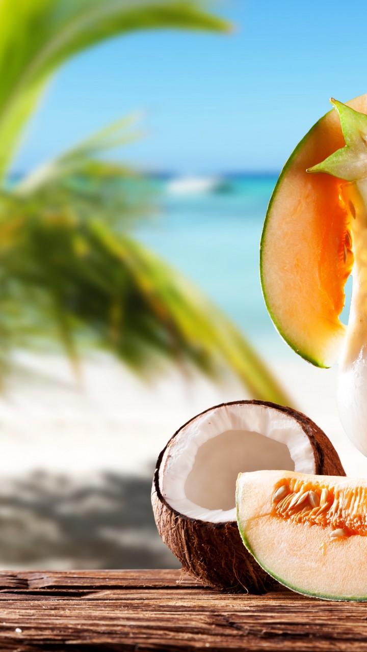 Wallpaper Milk Shake Drinks Cocktail Summer Sun Fruit