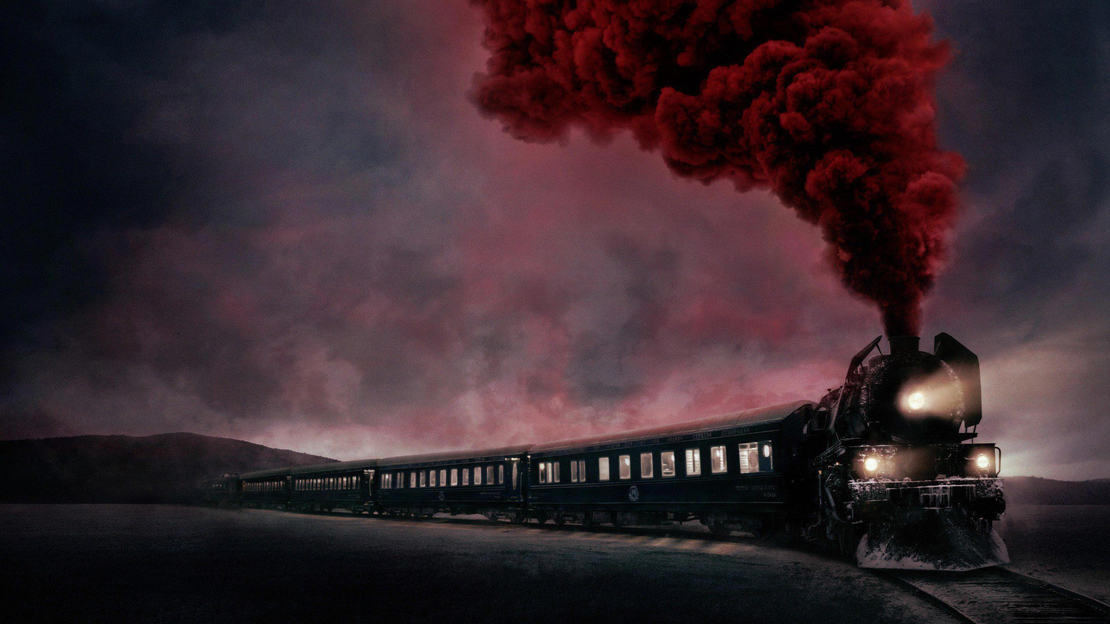 Wallpaper Murder On The Orient Express Train 4k Movies