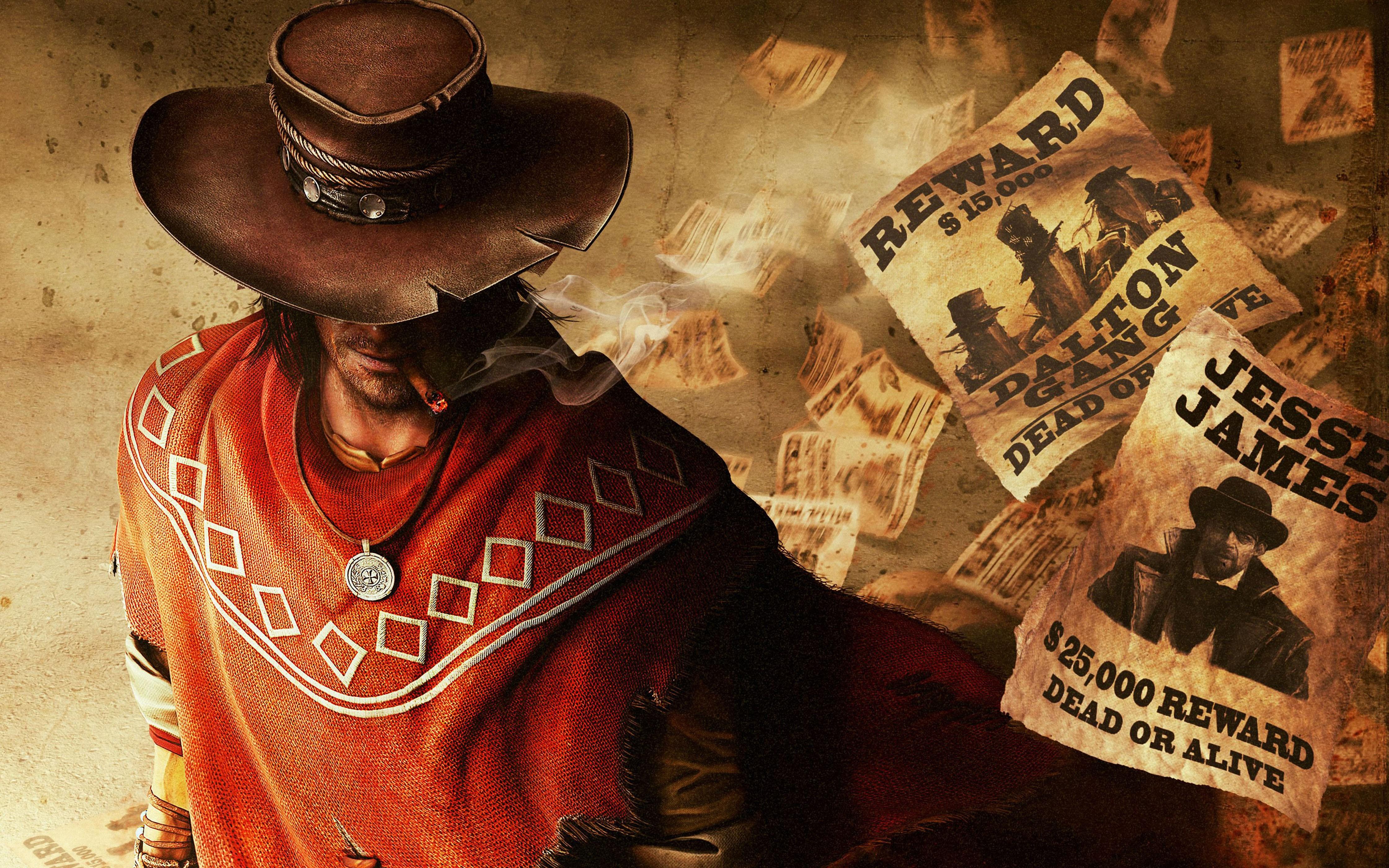 Wallpaper Red Dead Redemption Game Adventure Games