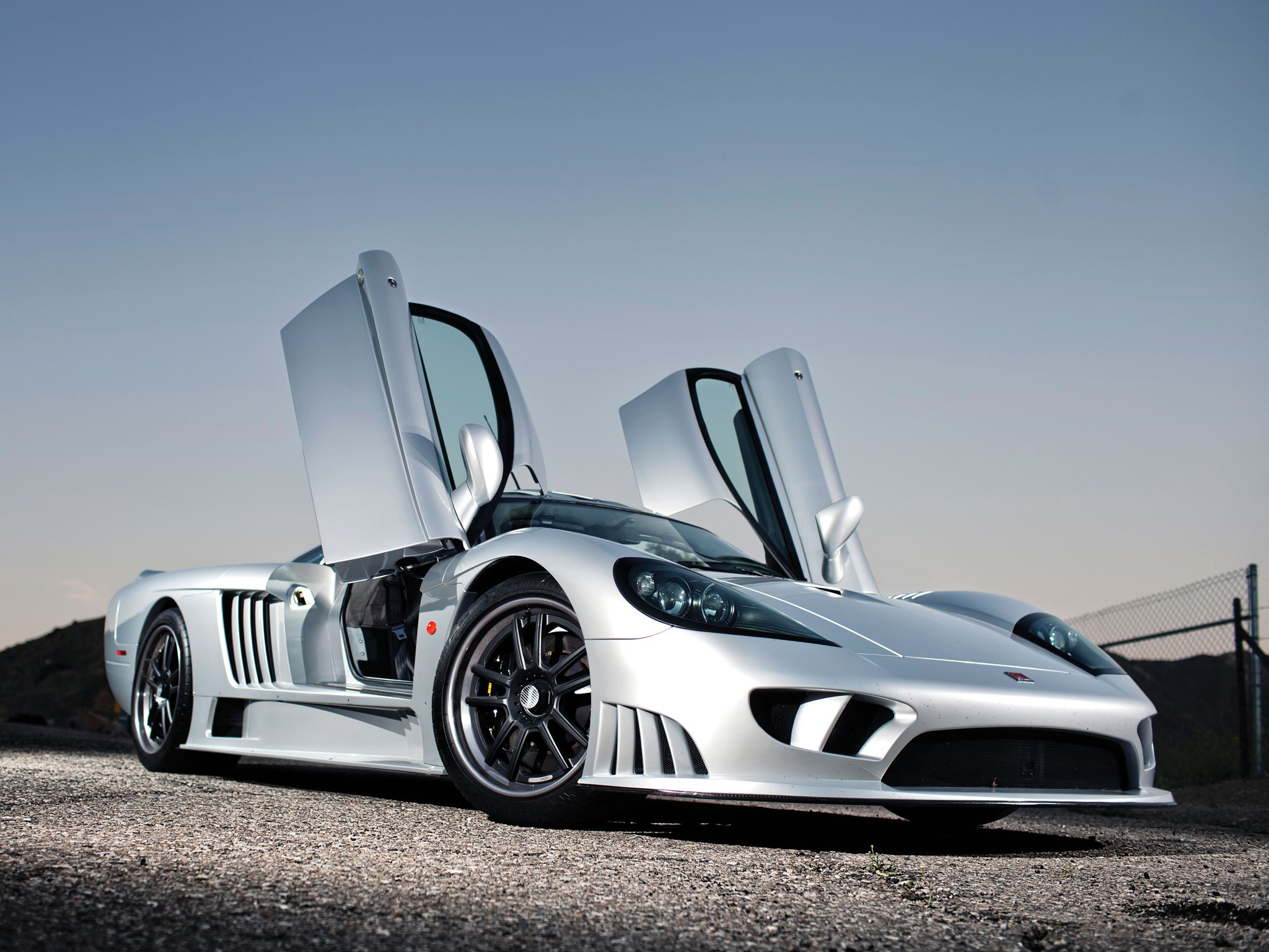 Wallpaper Saleen S7 Supercar Coupe Test Drive Review