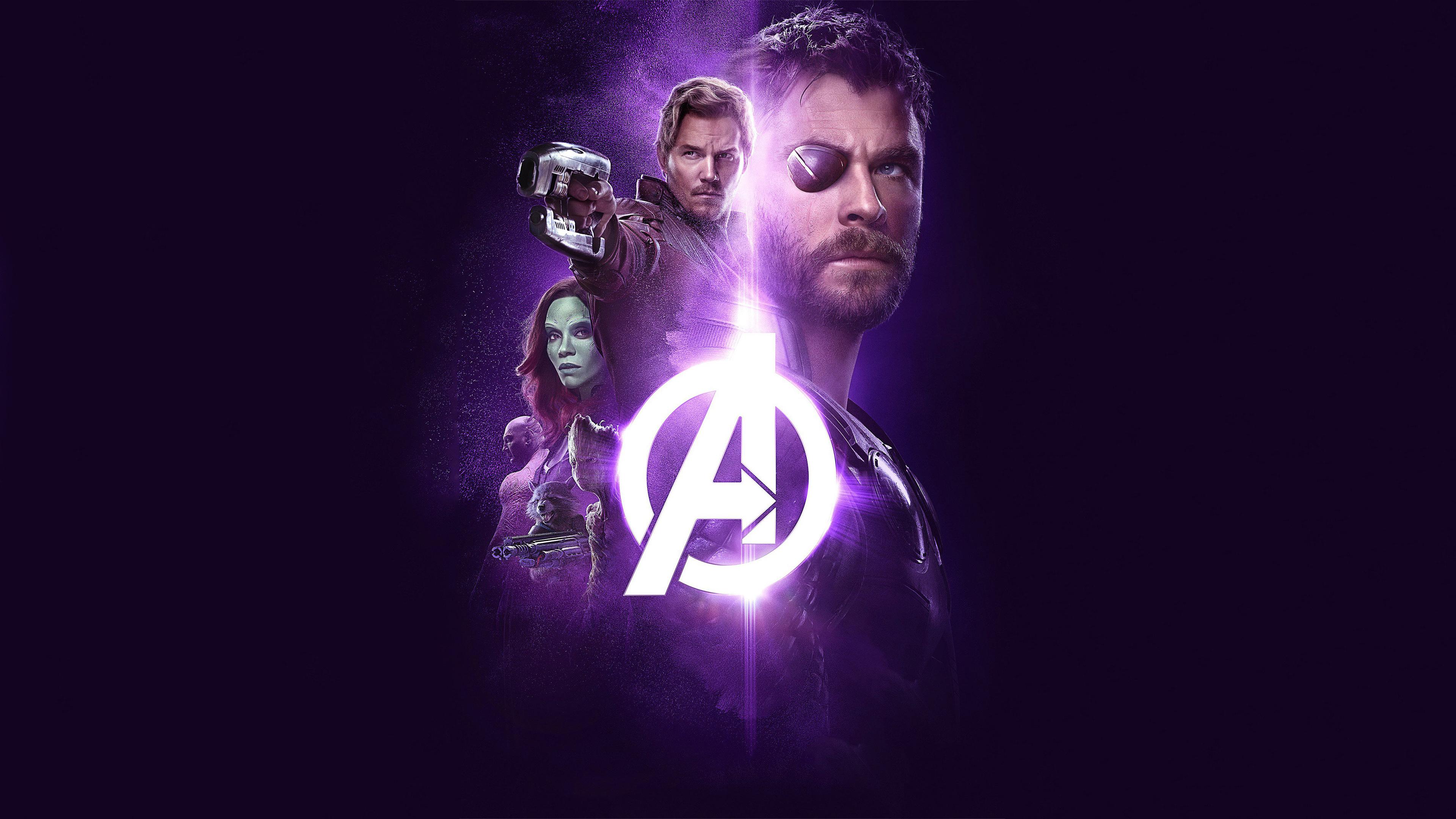 Download 3840x2400 Wallpaper Avengers Infinity War 2018