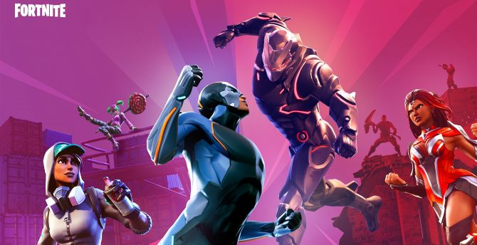 Desktop Wallpaper Video Game 2018 Fortnite Skins Hd Image Picture Background 79818e
